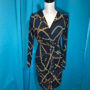 Michael Kor  career or dressy Lon sleeve dress